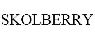 SKOLBERRY trademark