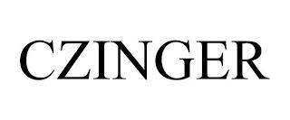 CZINGER trademark