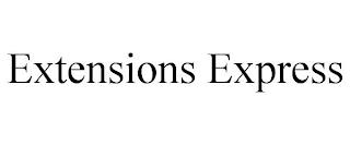 EXTENSIONS EXPRESS trademark