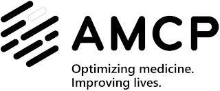 AMCP OPTIMIZING MEDICINE IMPROVING LIVES trademark