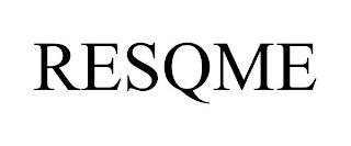 RESQME trademark