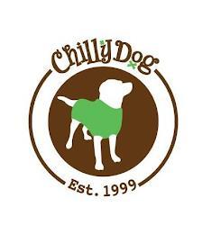 CHILLY DOG EST. 1999 trademark