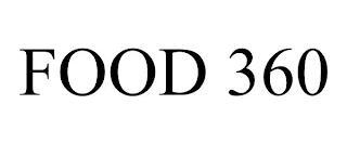 FOOD 360 trademark