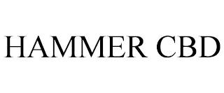 HAMMER CBD trademark