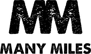 MM MANY MILES trademark