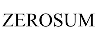 ZEROSUM trademark