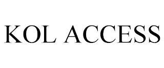 KOL ACCESS trademark