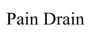 PAIN DRAIN trademark