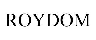 ROYDOM trademark