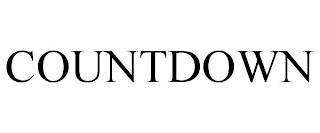 COUNTDOWN trademark