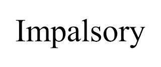 IMPALSORY trademark