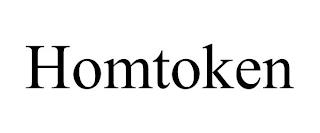 HOMTOKEN trademark