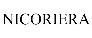 NICORIERA trademark