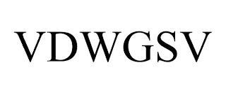 VDWGSV trademark
