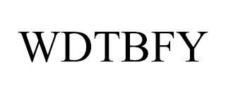 WDTBFY trademark