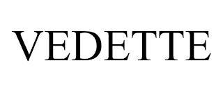 VEDETTE trademark