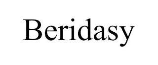 BERIDASY trademark