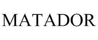 MATADOR trademark