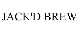 JACK'D BREW trademark