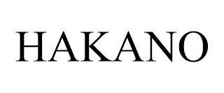 HAKANO trademark