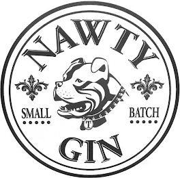 NAWTY GIN SMALL BATCH trademark