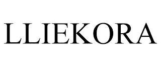 LLIEKORA trademark