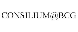 CONSILIUM@BCG trademark