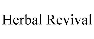 HERBAL REVIVAL trademark