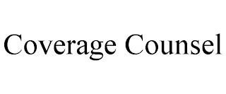 COVERAGE COUNSEL trademark