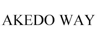 AKEDO WAY trademark