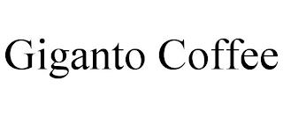GIGANTO COFFEE trademark