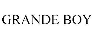 GRANDE BOY trademark