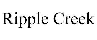 RIPPLE CREEK trademark
