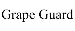 GRAPE GUARD trademark