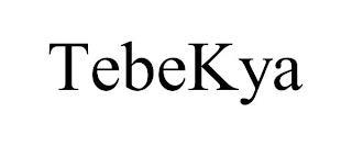 TEBEKYA trademark