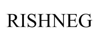 RISHNEG trademark