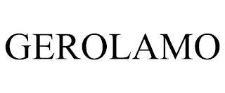 GEROLAMO trademark