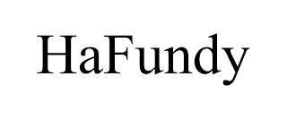 HAFUNDY trademark