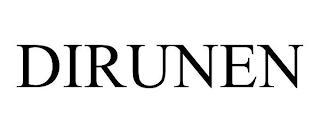 DIRUNEN trademark