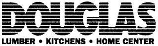 DOUGLAS LUMBER KITCHENS HOME CENTER trademark