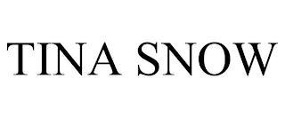 TINA SNOW trademark
