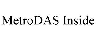 METRODAS INSIDE trademark