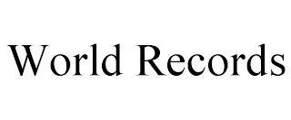 WORLD RECORDS trademark