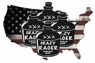 CRAZY RAGER XXX AMERICAN MARK trademark