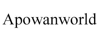 APOWANWORLD trademark