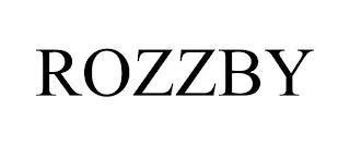 ROZZBY trademark