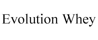 EVOLUTION WHEY trademark