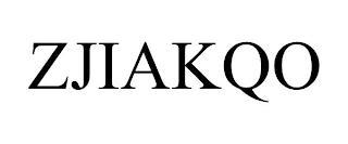 ZJIAKQO trademark