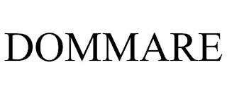 DOMMARE trademark