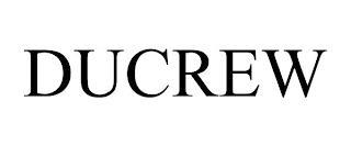 DUCREW trademark